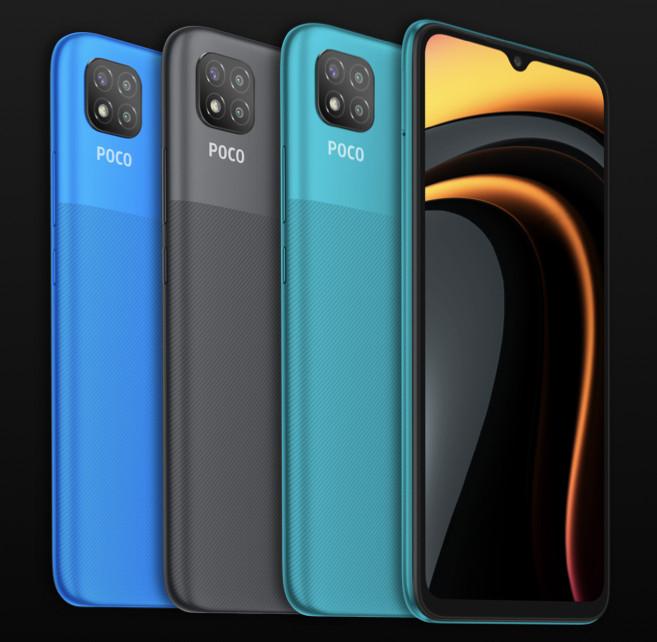 Xiaomi представила Poco C3: смартфон за $100 с тройной камерой и батареей на 5000 мАч